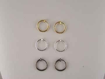 The Clip On Earring Store Stylist: Men's Clip On Earrings ...