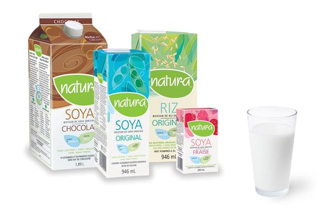 Natura-a lait soya sans lactose