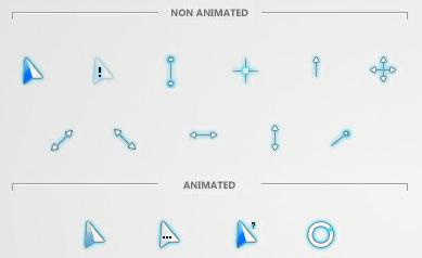 Glacier cursor scheme