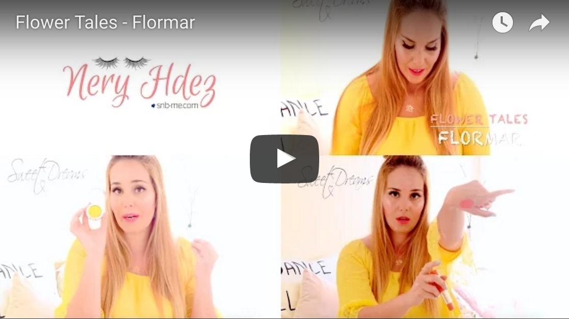 nery hdez, maquillaje, flormar, flower tales, bblogger, belleza