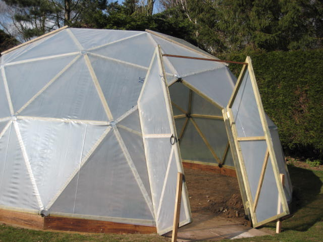 Footprints Diy Dome A Geodesic Dome Greenhouse