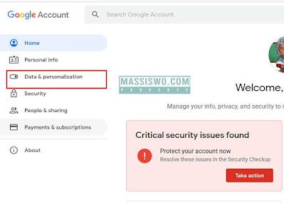 Menu mengubah bahasa google form data & personalization