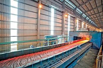 Nhà máy sắt thép xây dựng