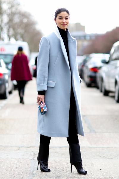 cappotti azzurro come abbinarli