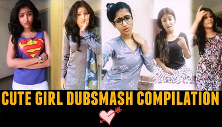 Cute and Funny Dubsmash Compilation of Poojashree   Tamil Dubsmash   Pooja Shree