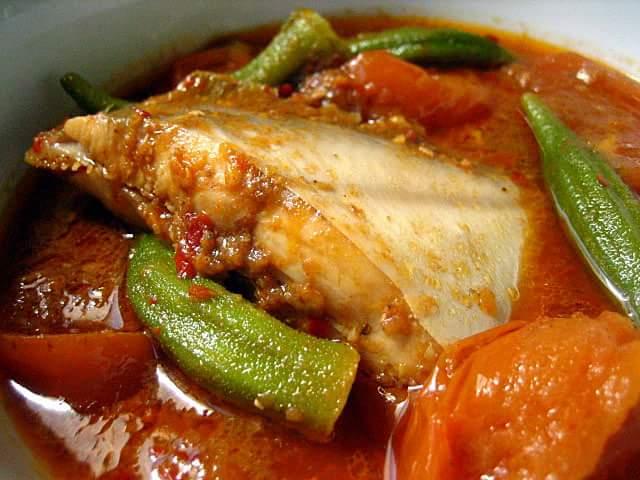 Asam Pedas Ikan Bawal Makyoss