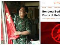 Bendera Palu Arit Berkibar di Jakarta, TNI Langsung Bergerak