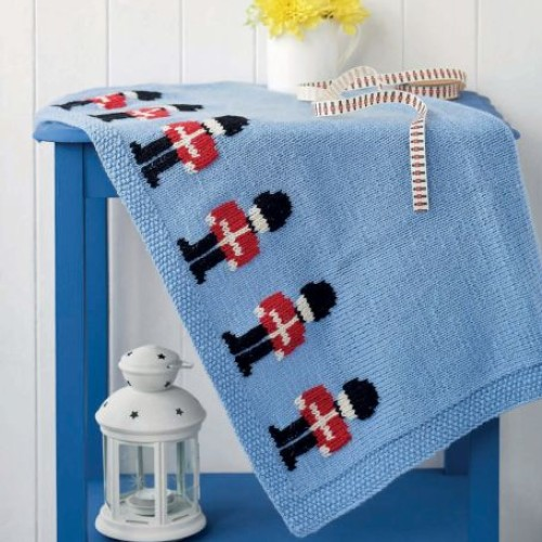 Little Soldier Blanket - Free Pattern