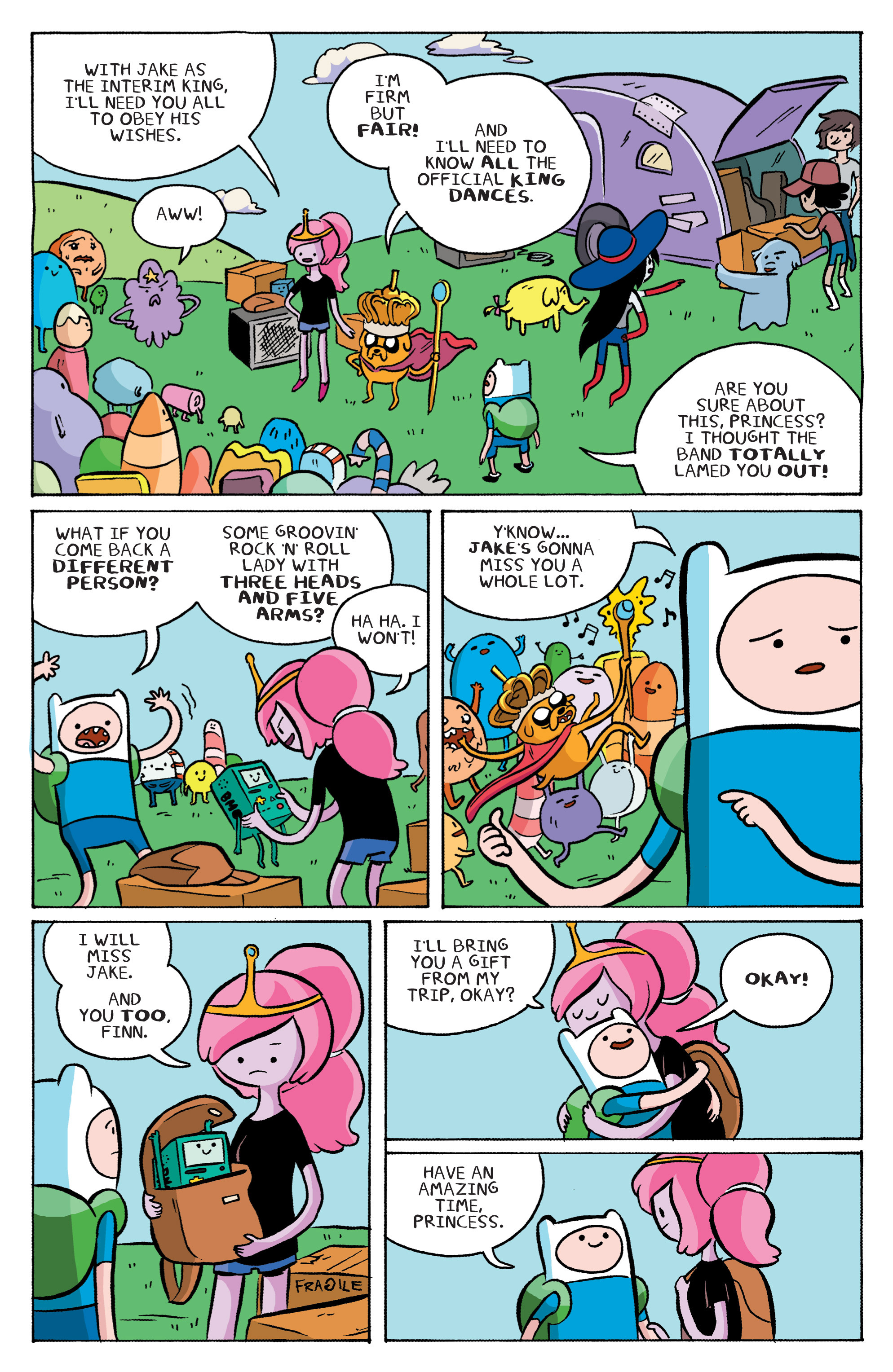 Read online Adventure Time: Marceline and the Scream Queens comic -  Issue #1 - 20