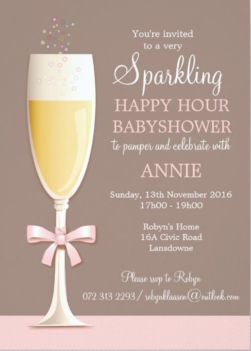 Catching Up With The Klaasens How To Host A Happy Hour Baby Shower