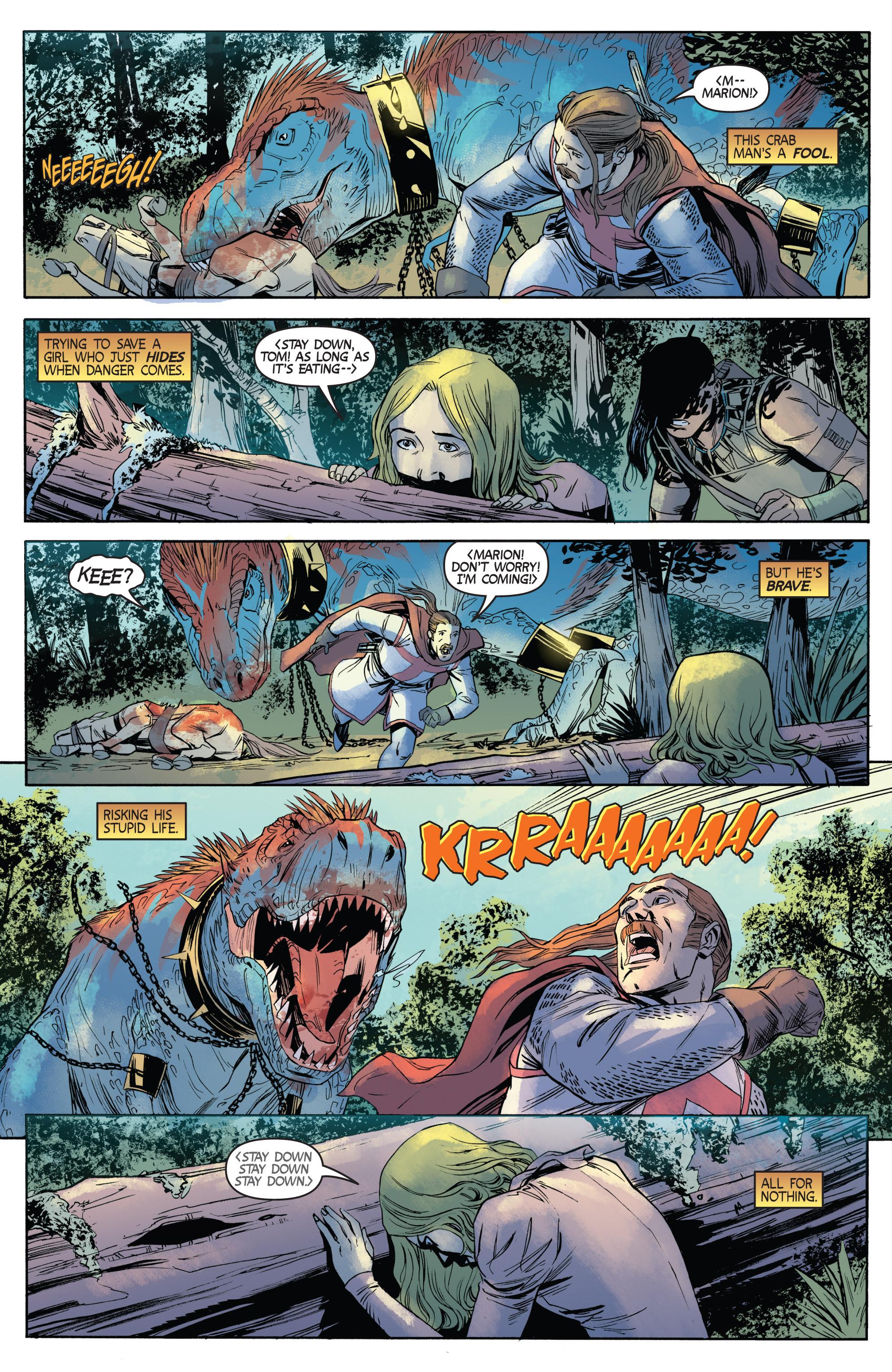 Read online Turok: Dinosaur Hunter (2014) comic -  Issue # _TPB 1 - 67
