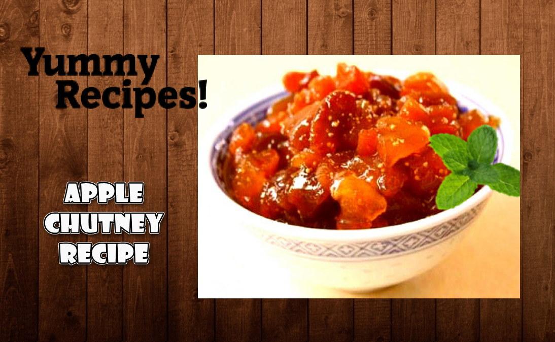Apple Chutney Recipe - How To Make Apple Chutney