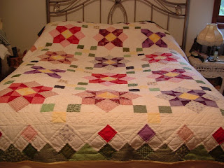 Blue ribbon winning quilt