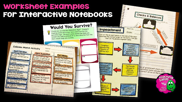Blog post discusses using formative assessment in interactive notebooks.