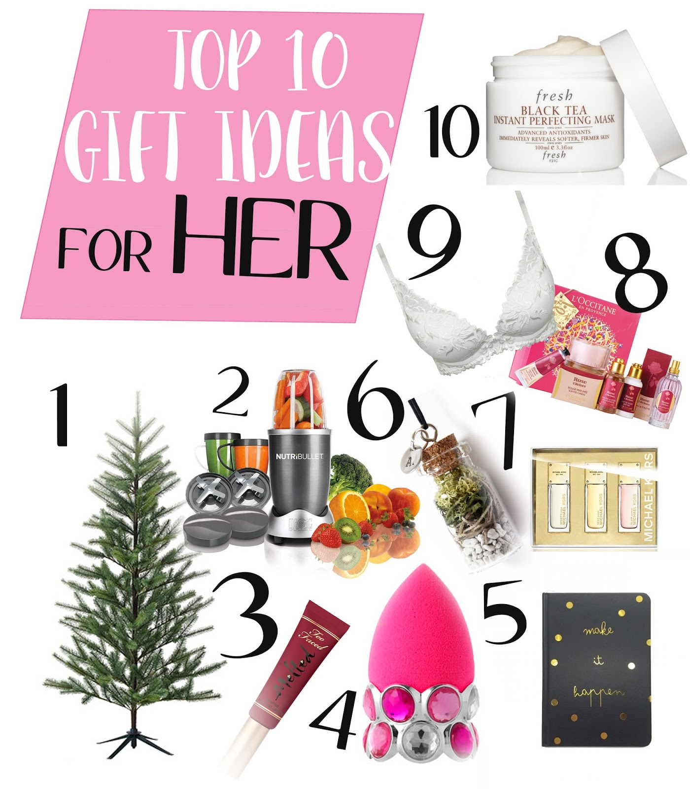 Ultimate Gift Guide Top 10 Ideas For Her