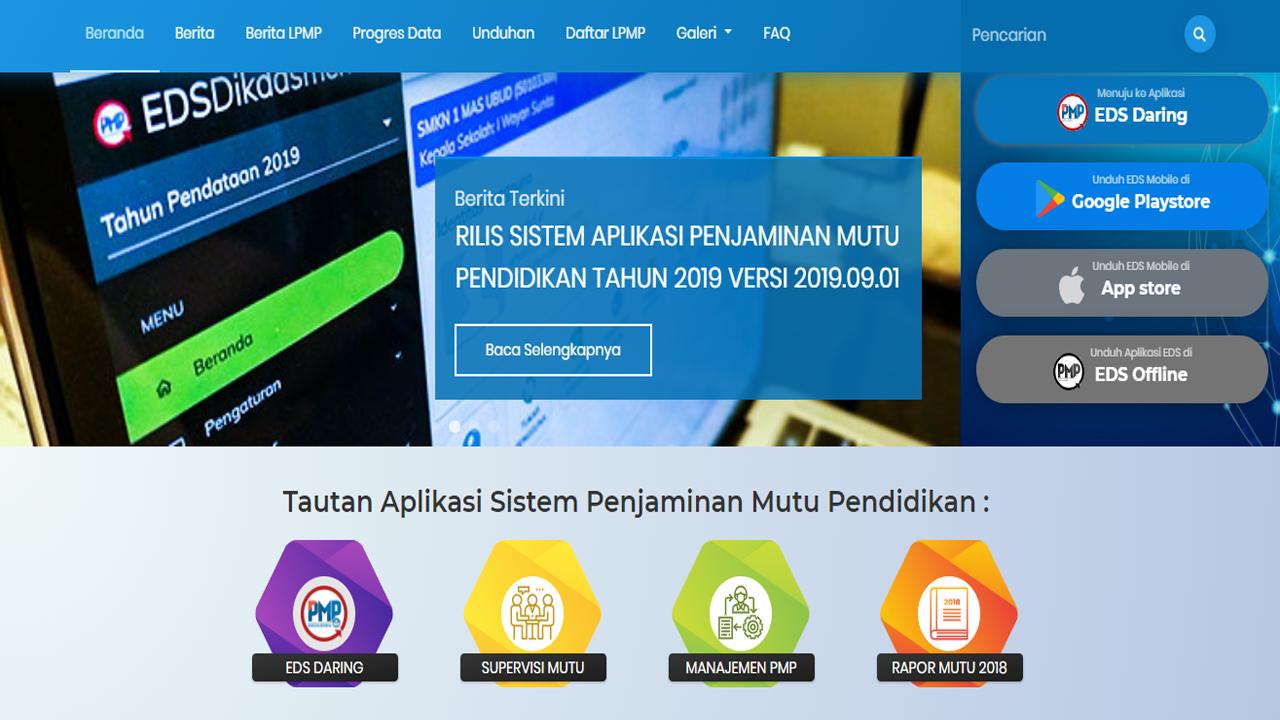 SK TPMPS, Penjaminan Mutu Pendidikan Sekolah SD/SMP/SMA