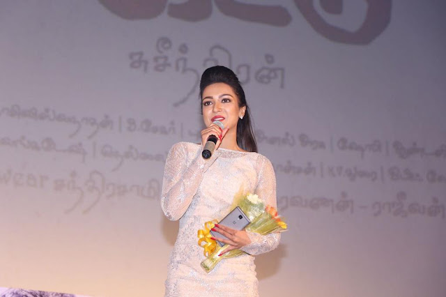 Catherine Tresa At Maaveeran Kittu Audio Launch Photos