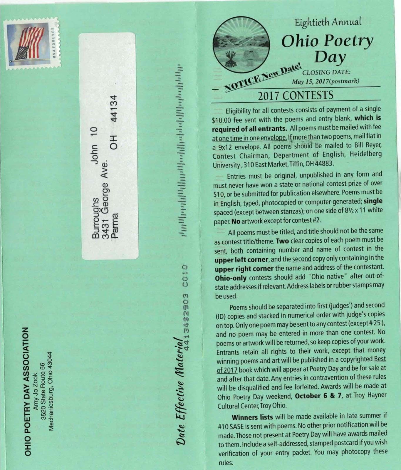 Ohio contests