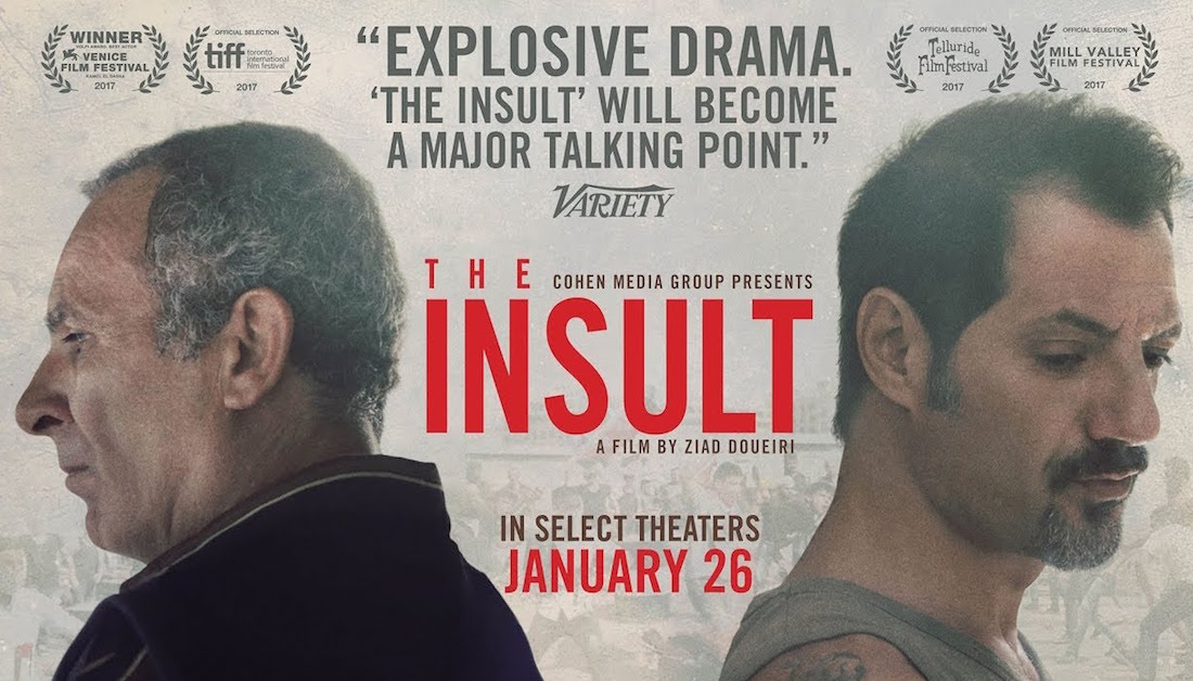 「The Insult 2017 movie poster」的圖片搜尋結果