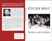 Portada del libro Relatos con codeína de Óscar Maif