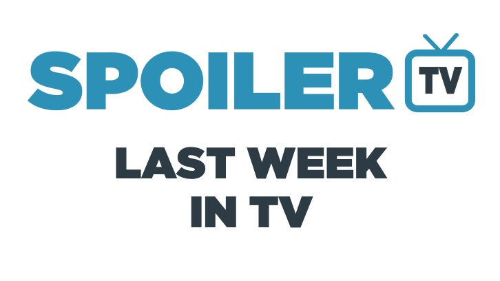 Last Week in TV - Week of May 22 - Reviews and Episode Awards