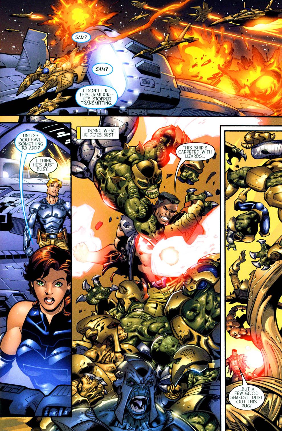 Read online Sigil (2000) comic -  Issue #11 - 14