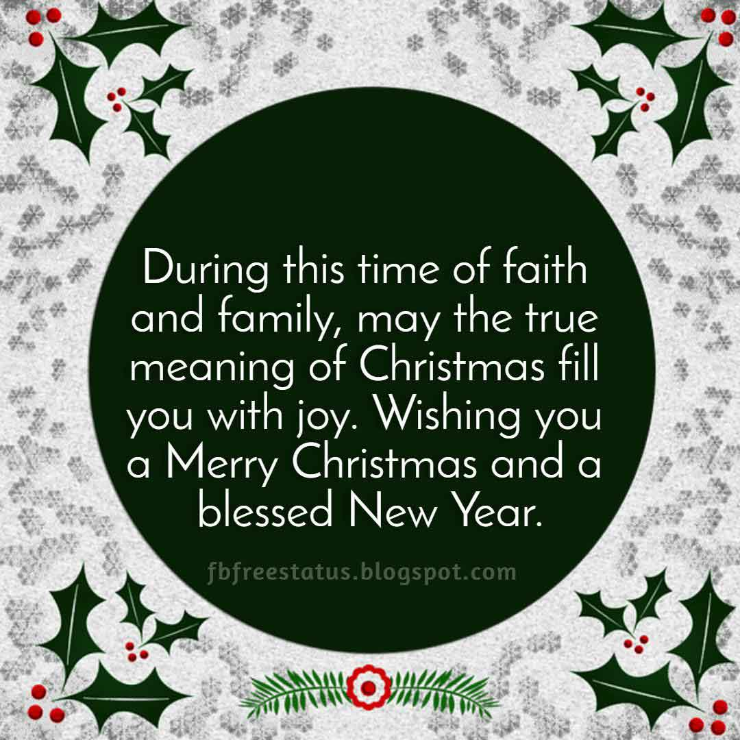 Merry Christmas and Happy New Year Images Wishes