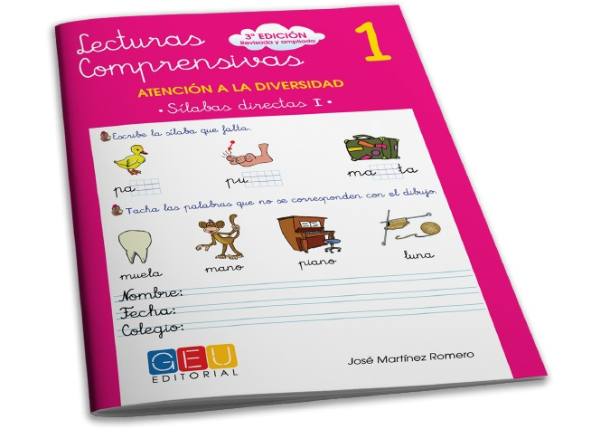 Cuadernos editorial GEU para mejorar la comprensión lectora