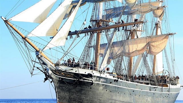Star of India no Museum Maritime of San Diego