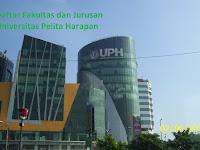 Daftar Fakultas dan Jurusan UPH Universitas Pelita Harapan Lengkap Terbaru