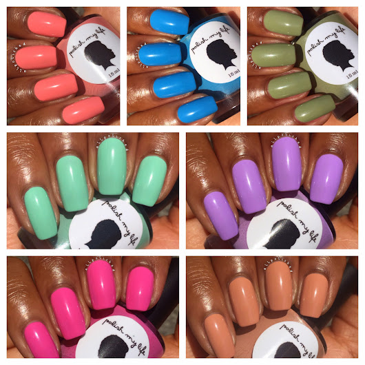Polish My Life All Things Vintage Spring Collection Swatches & Review