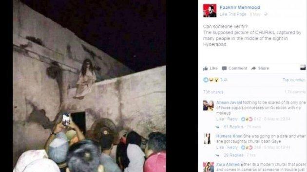 Kuntilanak Muncul di Atas Atap Gereja, Orang Orang ini Bukannya Takut Malah Sibuk Lakukan Hal ini