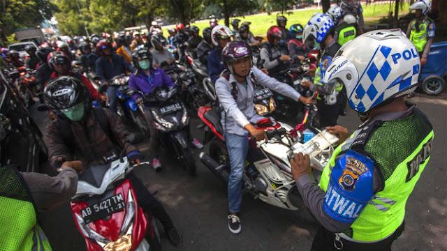 Operasi Zebra Serentak di Seluruh Indonesia, Ini Jenis Pelanggaran yang Bakal Ditilang Polisi