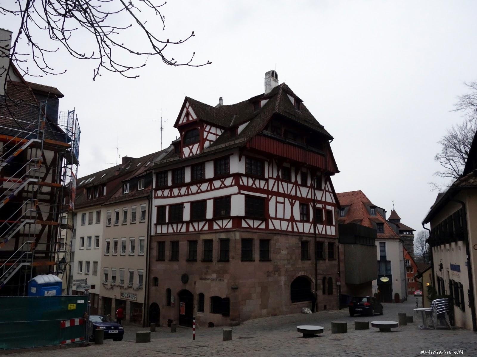 Unterfrankes Welt: Albrecht Dürer Haus in Nürnberg