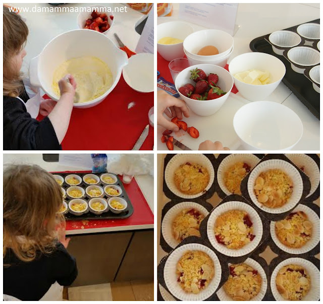 ricetta delle mini sbrisolone alle fragole