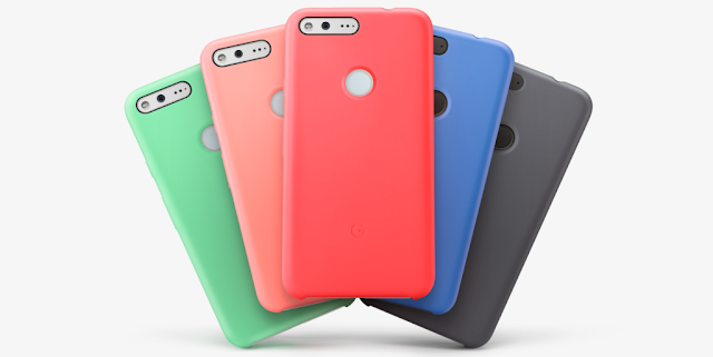 Google Pixel and Pixel XL Silicone Cases Now Available In New Colors