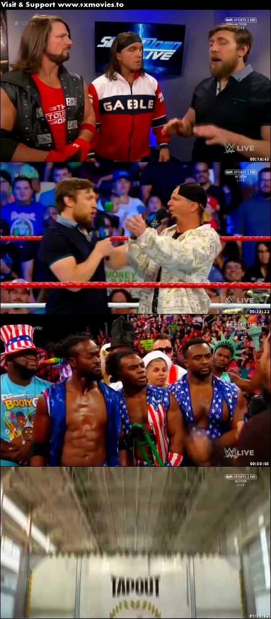 WWE Smackdown Live 04 July 2017 HDTV 480p 300MB