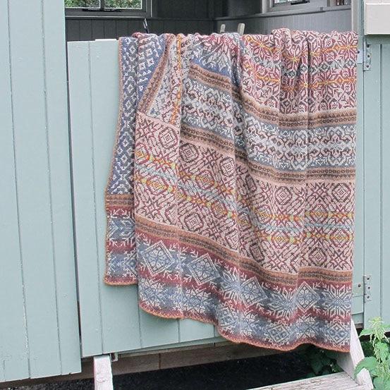 Marie Wallin's blanket extraordinaire KAL - Knitionary