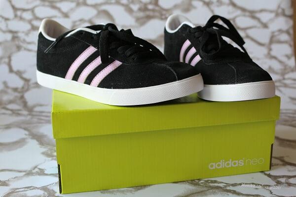Adidas Neo schwarz-rosa / eigene kleine Welt