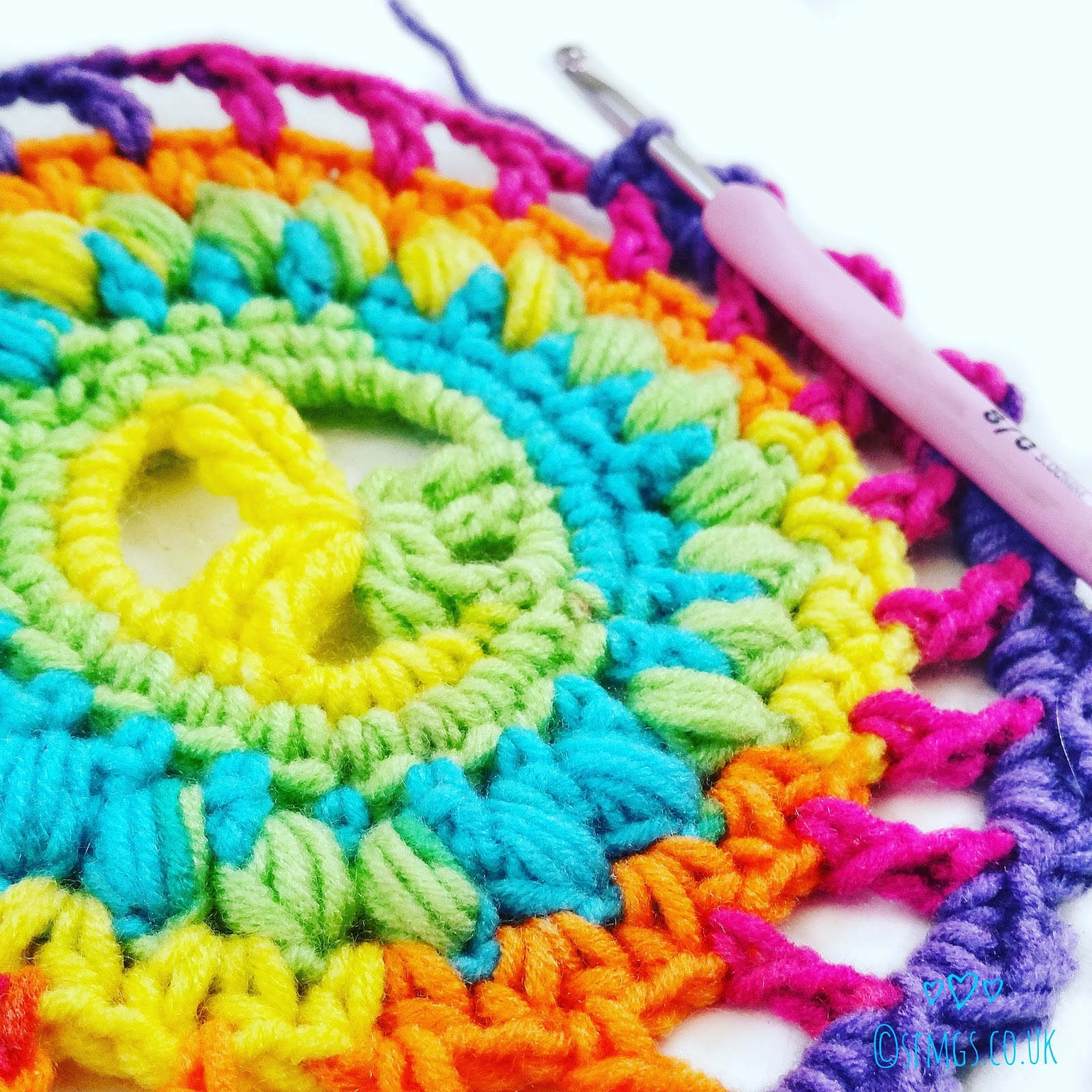 Set Free My Gypsy Soul | a Crochet Craft blog : Peace Out Mandala ...