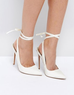 Bridal shoes ivory or colour?