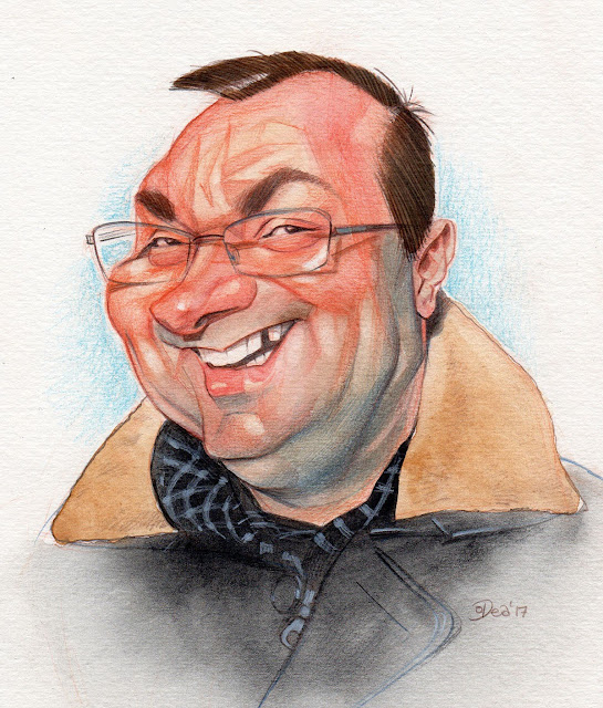 caricature, aquarelle, collection, autoportrait, montreal, patrick, dea