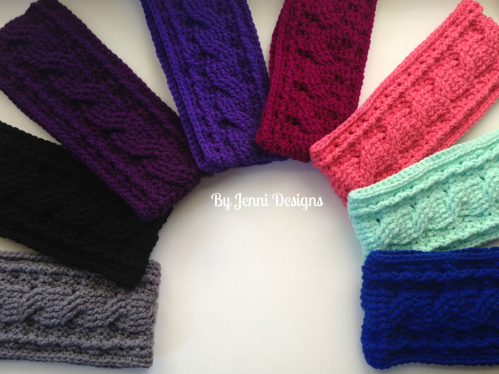 Exelent Cable Knit Ear Warmer Pattern Sketch - Blanket Knitting ...