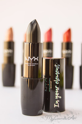 Labiales In Your Element de NYX. Ediciones Limitadas.