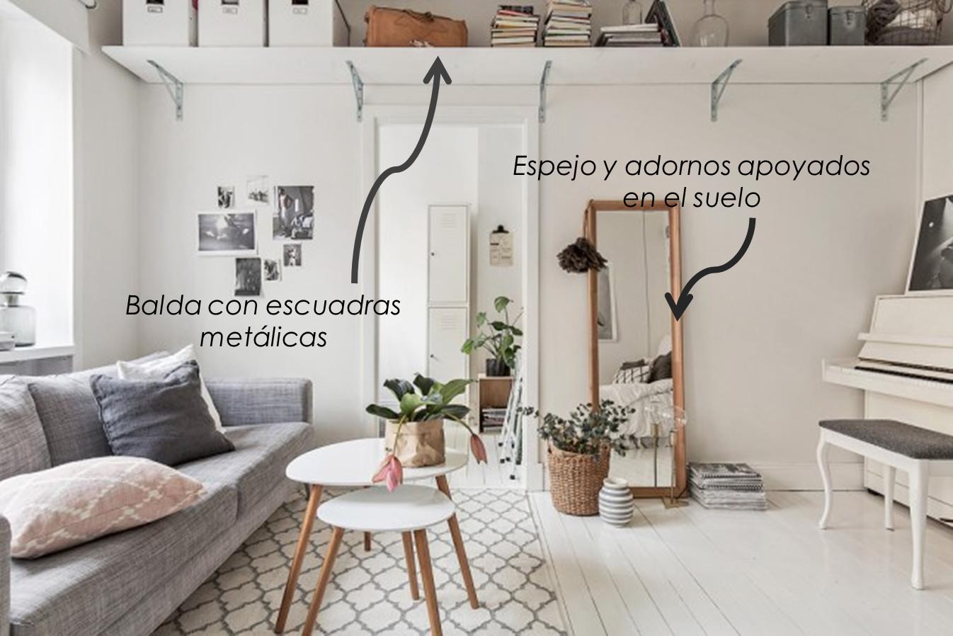 Decoraci n f cil como decorar un mini apartamento con for Decoracion de apartamentos sencillos