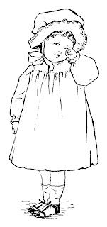 girl vintage illustration drawing artwork image illustration clipart