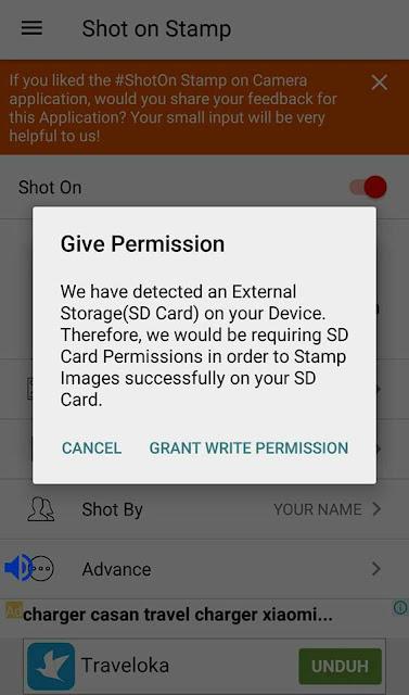Tutorial Menampilkan Shot On Vivo V9 di Kamera Android (Watermark) 2