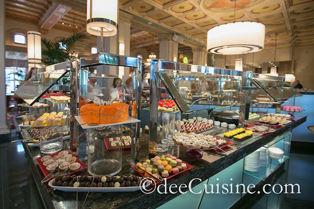 Dessert station with over 30 different treats to indulge in