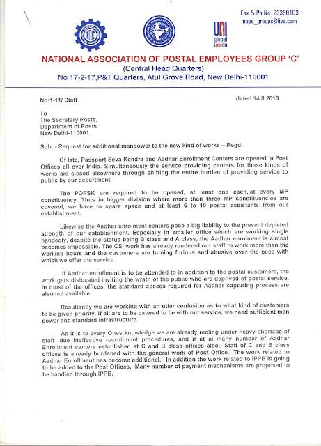 National Association of Postal Employees Group 'C' Jalandhar