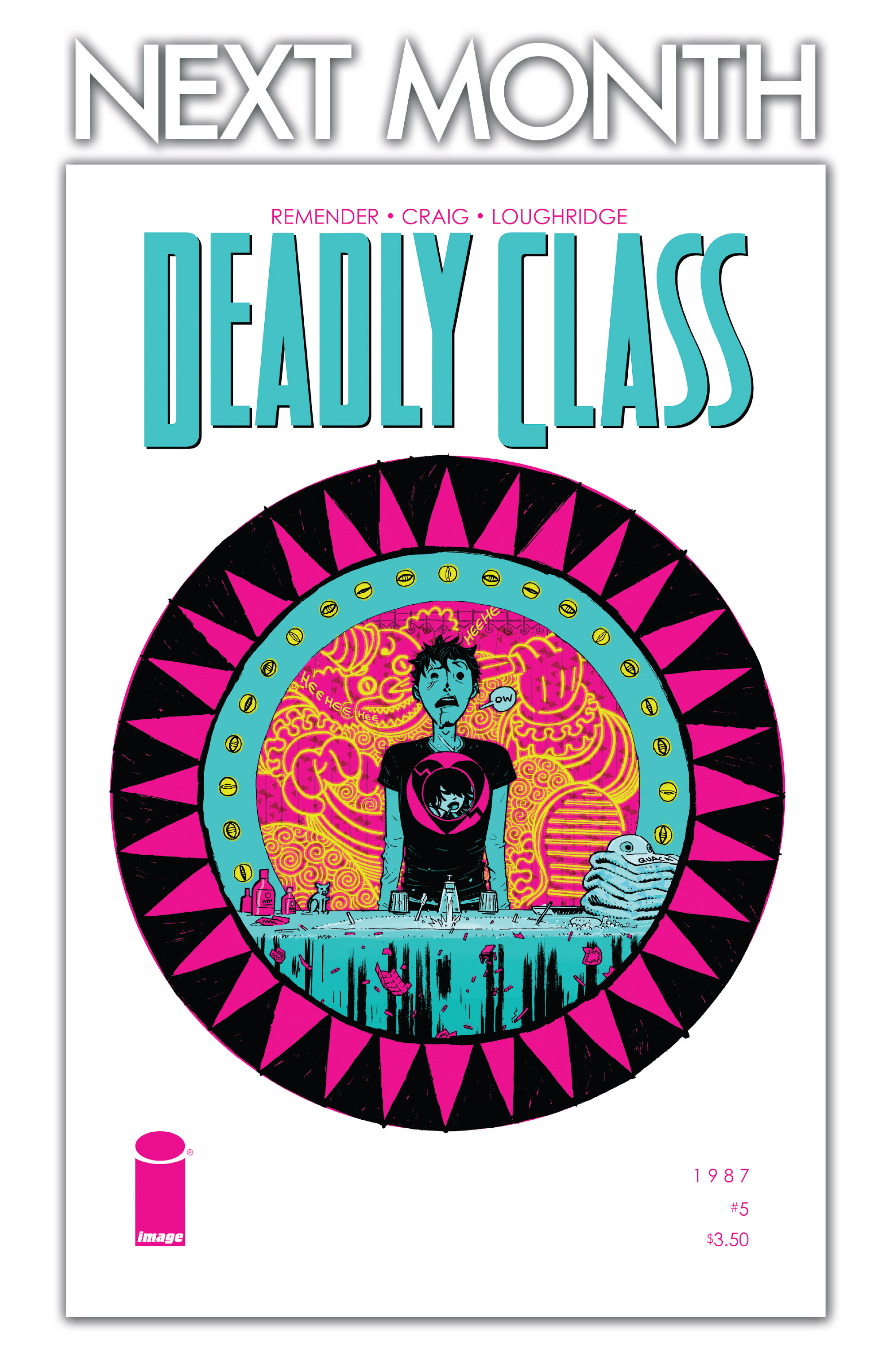 Read online Deadly Class comic -  Issue #4 - 28